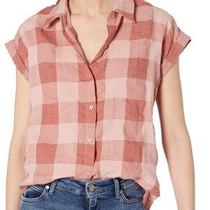 Lucky Brand linen button shirt
